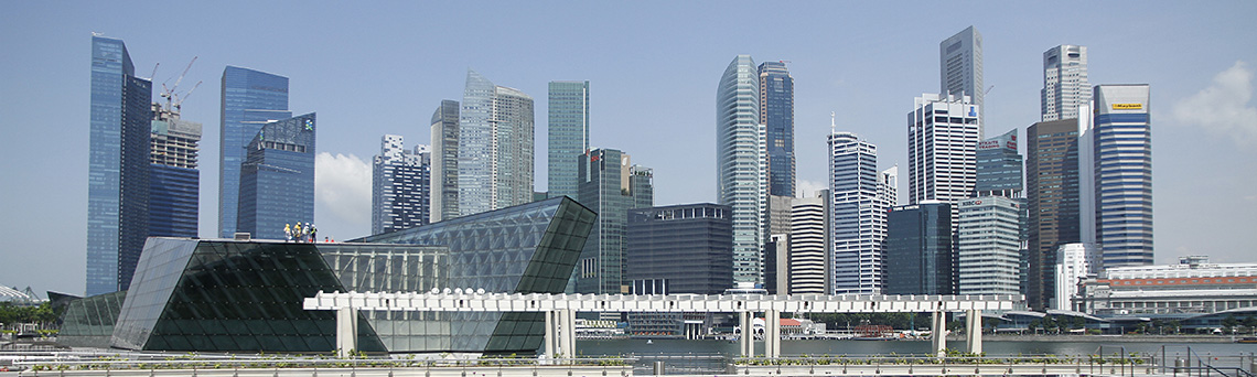 Marina Bay skyline • Swiss Association Singapore